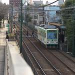 【Tokyo Train Story】荒川自然公園の入り口から都電荒川線を見下ろす