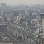 【Tokyo Train Story】北とぴあの展望ロビーから望む東北新幹線