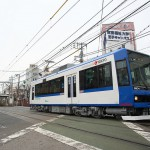 【Tokyo Train Story】都電荒川線の新型車両8900形を広角レンズで撮る