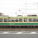 【Tokyo Train Story】都電荒川線を真横から流し撮りしてみた