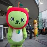 長野県PRキャラクターのアルクマが有楽町の東京交通会館にやってきた!