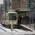 【Tokyo Train Story】雪の白さ(都電荒川線)