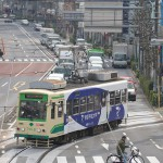【Tokyo Train Story】飛鳥山の歩道橋の上から都電荒川線を撮る