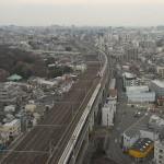 【Tokyo Train Story】北とぴあの展望ロビーから見下ろす鉄道模型のような新幹線