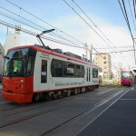 【Tokyo Train Story】オレンジとピンクのすれ違い(都電荒川線)