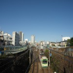 【Tokyo Train Story】広い青空がある鬼子母神前周辺(都電荒川線)