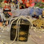 川島洋品店の蔵に展示されているお雛様はお伽話の世界が描かれています! 『春の青春18きっぷの旅 真壁のひなまつり編』 その9