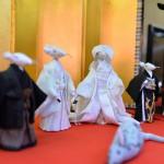 ねずみの嫁入りの雛人形もあるバラエティ豊かな佐藤寝具のお雛様  『春の青春18きっぷの旅 真壁のひなまつり編』 その2