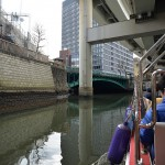 神田川と日本橋川の25の橋をくぐってゴール地点の日本橋へ! 『千代田のさくらクルーズの旅』 その5