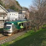 【Tokyo Train Story】桜が咲いていたら最高だなという東急多摩川線沿線の眺め
