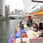 神田川と日本橋川で船に乗りながらお花見をする!?秋葉原の和泉橋からクルーズがスタート! 『千代田のさくらクルーズの旅』 その1