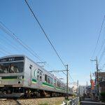【Tokyo Train Story】青い空と東急多摩川線