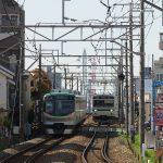 【Tokyo Train Story】東急多摩川線、新旧車両のすれ違い