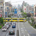【Tokyo Train Story】大通りを横切る東急世田谷線