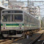 【Tokyo Train Story】矢口渡駅に停車中の東急多摩川線