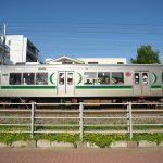 【Tokyo Train Story】青空と花の春景色(東急多摩川線)