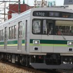 【Tokyo Train Story】画面いっぱいの東急多摩川線