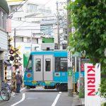 【Tokyo Train Story】住宅街の踏切でニュッと現れる東急世田谷線