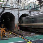 【Tokyo Train Story】神泉駅横のトンネル(京王井の頭線)
