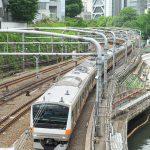 【Tokyo Train Story】お茶の水橋から見下ろす中央線