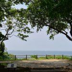 猿島に残る砲台跡 江戸から昭和の国防の歴史を垣間見ることができます 『よこすかグルメきっぷの旅』 その8