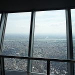 梅雨の晴れ間に東京スカイツリーに上ってみたら、東京の街をこんなにみごとに眺めることができた!