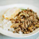 湯島で本格タイ料理!サイアム食堂のプーパッポンカリーとガパオが美味!【フィルムカメラ】