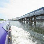 京浜運河は東京モノレールと並走する最高の撮り鉄スポット! 『京浜運河&隅田川&神田川ゆったりクルーズの旅』 その5