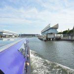 海老取川に架かる繋がっていない橋!?羽田可動橋を川の上から眺めてみた 『京浜運河&隅田川&神田川ゆったりクルーズの旅』 その6