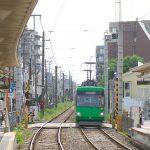 【Tokyo Train Story】道路からそのままホームへ(東急世田谷線)