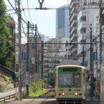 【Tokyo Train Story】大塚駅前付近の坂道にて(都電荒川線)