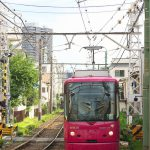 【Tokyo Train Story】鮮やかなピンクの車両が走る街(都電荒川線)