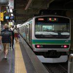 【Tokyo Train Story】上野駅の常磐線快速列車