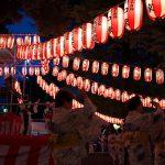 平成28年(2016年)の雑司ヶ谷鬼子母神の盆踊り大会が22日(金)に開幕 23日(土)も19時スタートです #地域ブログ