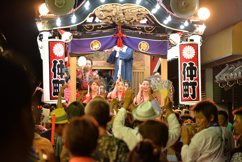 平成28年(2016年)の平磯三社祭