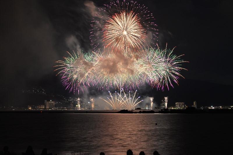 平成28年(2016年)の諏訪湖祭湖上花火大会