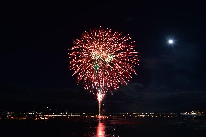 平成28年(2016年)の岡谷の花火大会