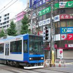 【Tokyo Train Story】町屋駅前の派手な景色(都電荒川線)