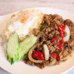 湯島で本格的タイ料理!サイアム食堂のガパオとサイアムチキンミニが美味しかった話 #地域ブログ