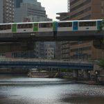 【Tokyo Train Story】運河の水面のきらめき(東京モノレール)