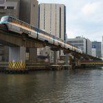 【Tokyo Train Story】真夏の運河の風景(東京モノレール)