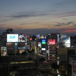 【Tokyo Train Story】渋谷の夕空(埼京線)