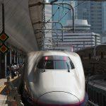 【Tokyo Train Story】東京駅に停車中の東北新幹線E2系