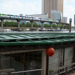 【Tokyo Train Story】運河の賑わい(東京モノレール)