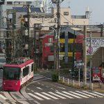 【Tokyo Train Story】飛鳥山の歩道橋から(都電荒川線)