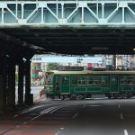 【Tokyo Train Story】額縁に入った都電荒川線