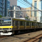 【Tokyo Train Story】水道橋駅付近で総武線を撮る