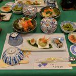 群馬県中之条町の沢渡温泉にあるまるほん旅館の豪華な夕食を写真付きで紹介 #地域ブログ