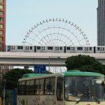 【Tokyo Train Story】観覧車とビルとゆりかもめ