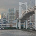 【Tokyo Train Story】お台場から対岸のゆりかもめを望む